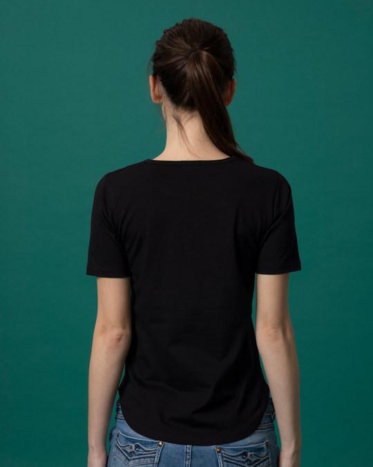 Shop Love Yourself Basic Round Hem T-Shirt-Full