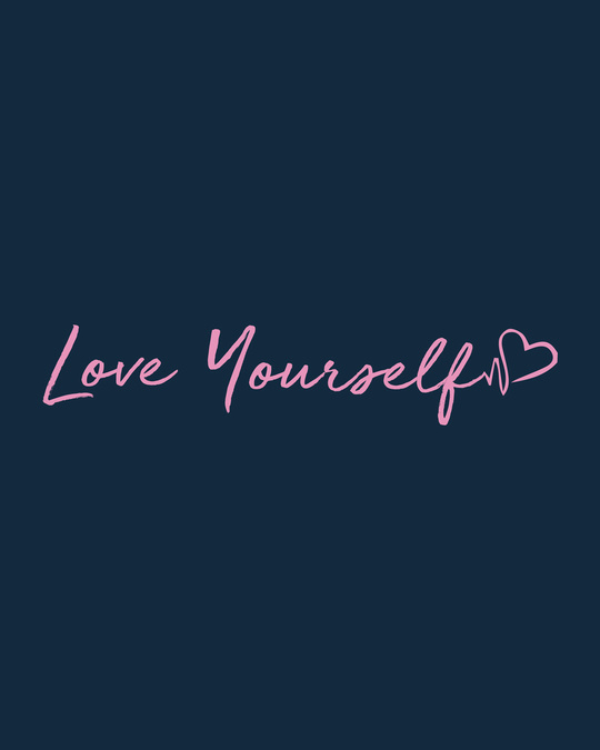 Shop Love Yourself Boyfriend T-Shirt
