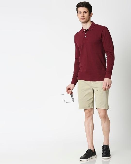 Shop Aqua Green Chino Shorts