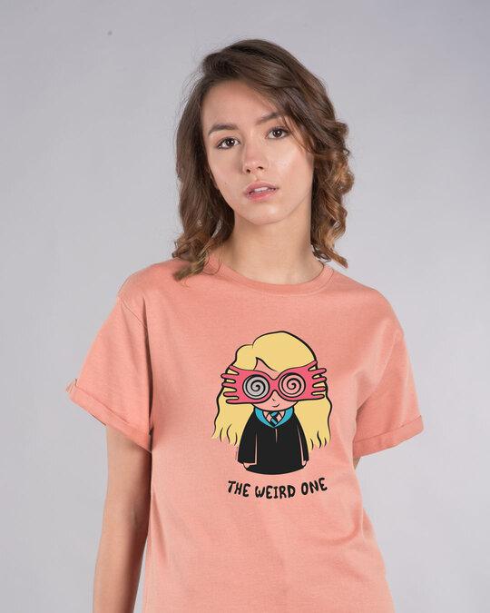 Shop Luna Weird Boyfriend T-Shirt (HPL)-Front