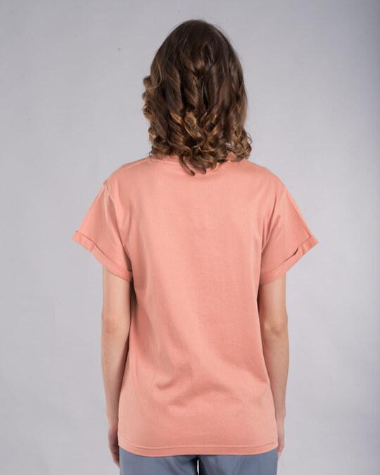 Shop Luna Weird Boyfriend T-Shirt (HPL)-Back
