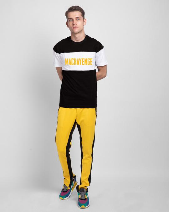 Shop Machayenge Color Block T-Shirt-Full