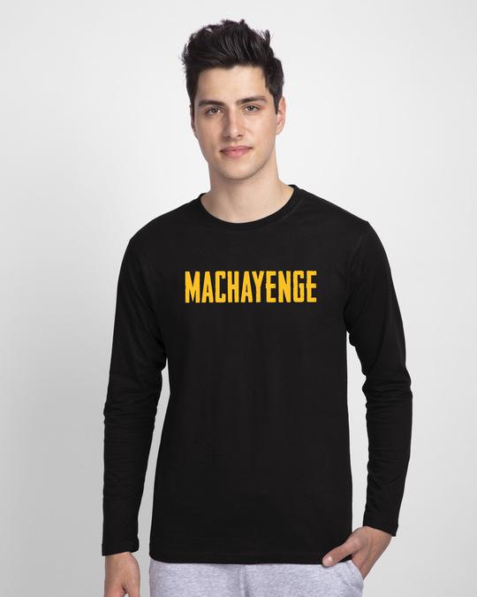 Shop Machayenge Full Sleeve T-Shirt-Front