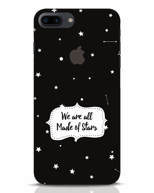 Shop Made Of Stars iPhone 7 Plus Logo Cut Mobile Cover-Front