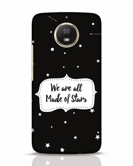 Shop Made Of Stars Moto G5s Mobile Cover-Front