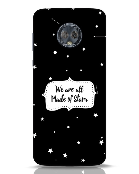 Shop Made Of Stars Moto G6 Mobile Cover-Front
