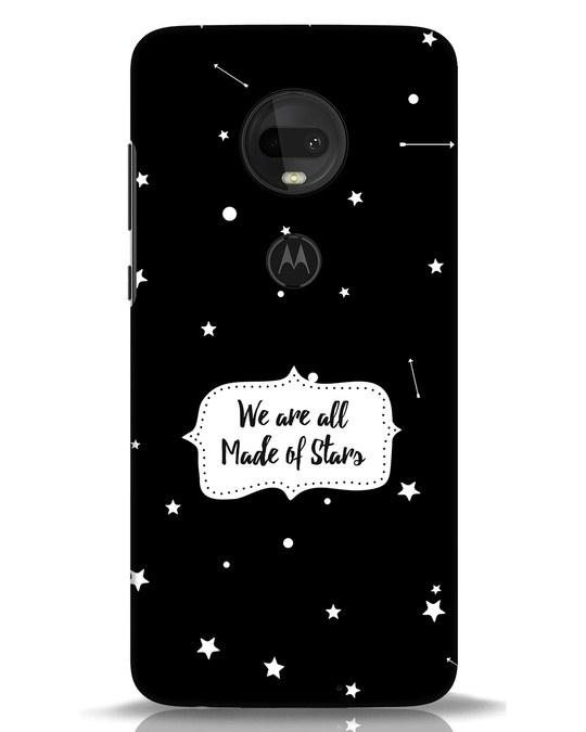 Shop Made Of Stars Moto G7 Mobile Cover-Front