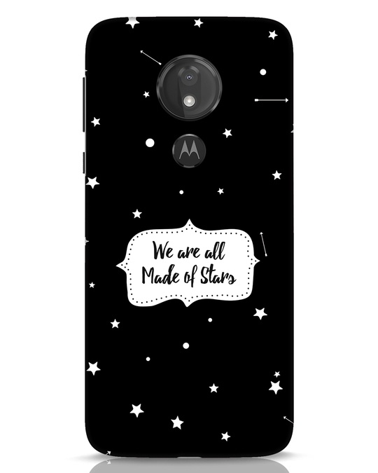 Shop Made Of Stars Moto G7 Power Mobile Cover-Front