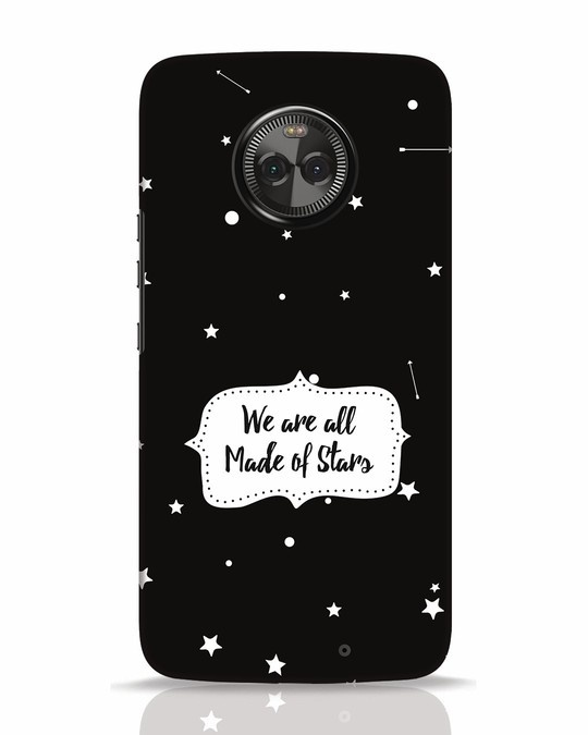 Shop Made Of Stars Moto X4 Mobile Cover-Front