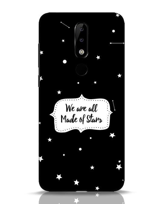 Shop Made Of Stars Nokia 5.1 Plus Mobile Cover-Front