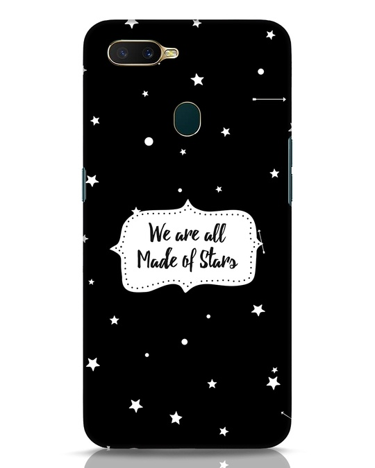 Shop Made Of Stars Oppo A7 Mobile Cover-Front