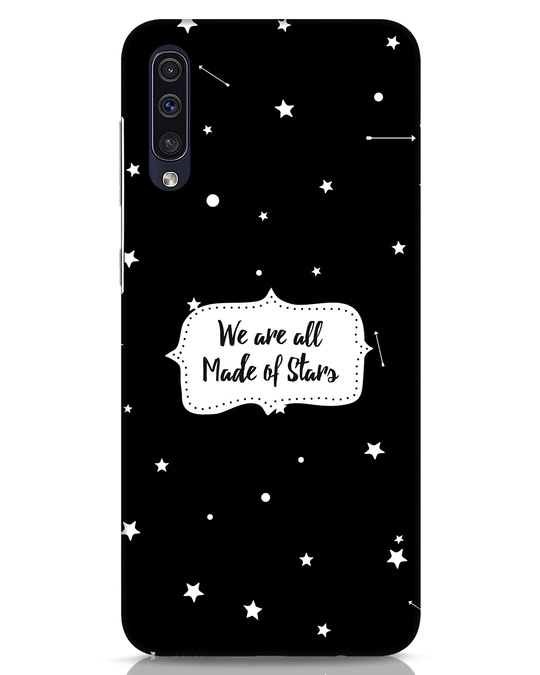 Shop Made Of Stars Samsung Galaxy A50 Mobile Cover-Front