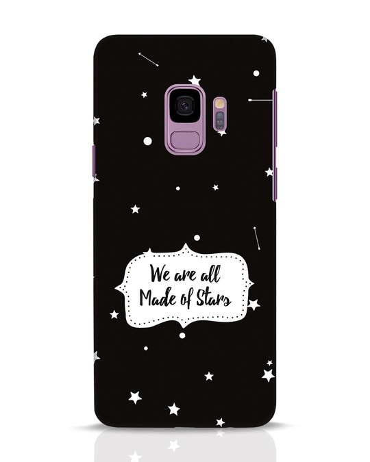 Shop Made Of Stars Samsung Galaxy S9 Mobile Cover-Front