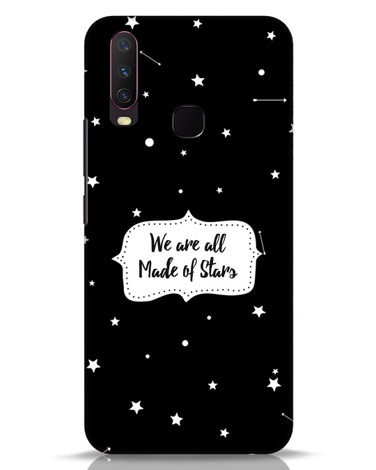 Shop Made Of Stars Vivo Y17 Mobile Cover-Front