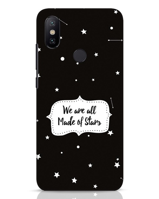 Shop Made Of Stars Xiaomi Mi A2 Mobile Cover-Front