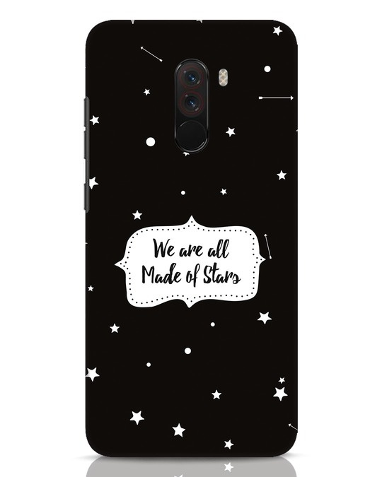 Shop Made Of Stars Xiaomi POCO F1 Mobile Cover-Front