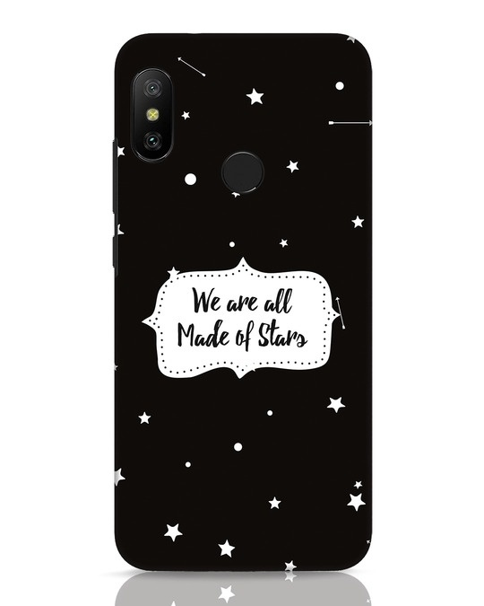 Shop Made Of Stars Xiaomi Redmi 6 Pro Mobile Cover-Front