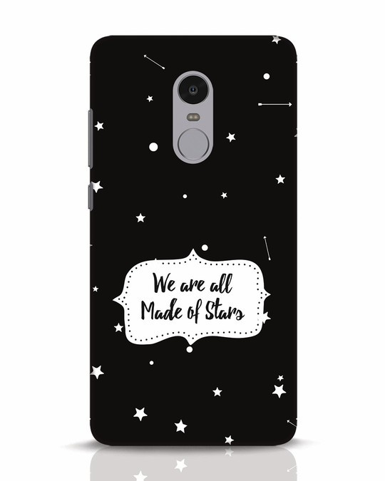 Shop Made Of Stars Xiaomi Redmi Note 4 Mobile Cover-Front
