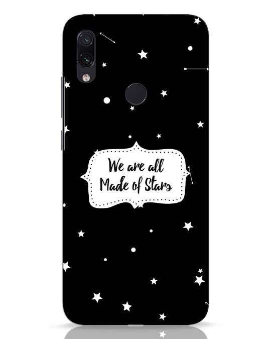 Shop Made Of Stars Xiaomi Redmi Note 7 Pro Mobile Cover-Front