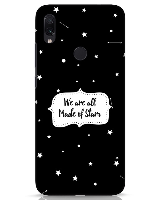 Shop Made Of Stars Xiaomi Redmi Note 7s Mobile Cover-Front