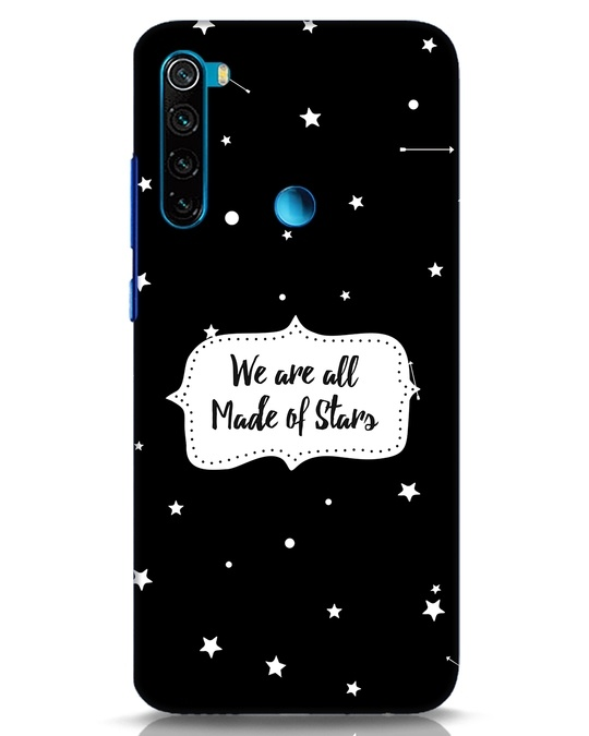 Shop Made Of Stars Xiaomi Redmi Note 8 Mobile Cover-Front