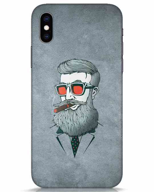 Shop Mafia iPhone XS Mobile Cover-Front