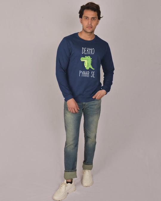 Shop Magarmach Fleece Sweater-Design