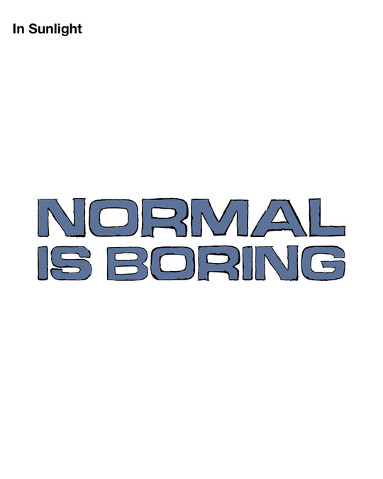 Shop Magic Normal Is Boring Boyfriend T-Shirt