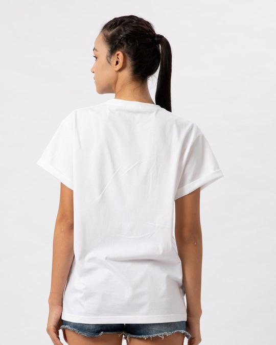 Shop Magical Elsa Boyfriend T-Shirt (FROZEN)-Back