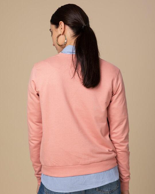 Shop Magical Elsa Fleece Light Sweatshirt (FROZEN)-Back