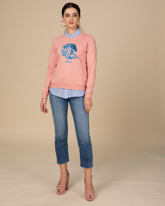 Shop Magical Elsa Fleece Light Sweatshirt (FROZEN)-Design