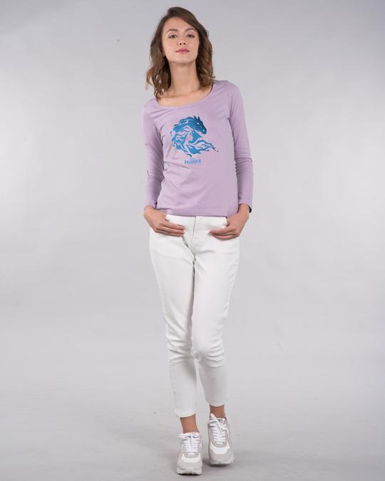 Shop Magical Elsa Scoop Neck Full Sleeve T-Shirt (FROZEN)-Design