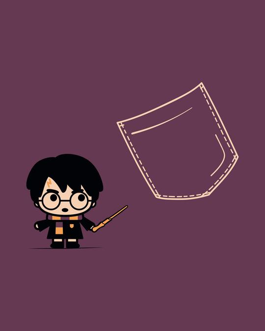 Shop Magical Pocket Boyfriend T-Shirt (HPL)