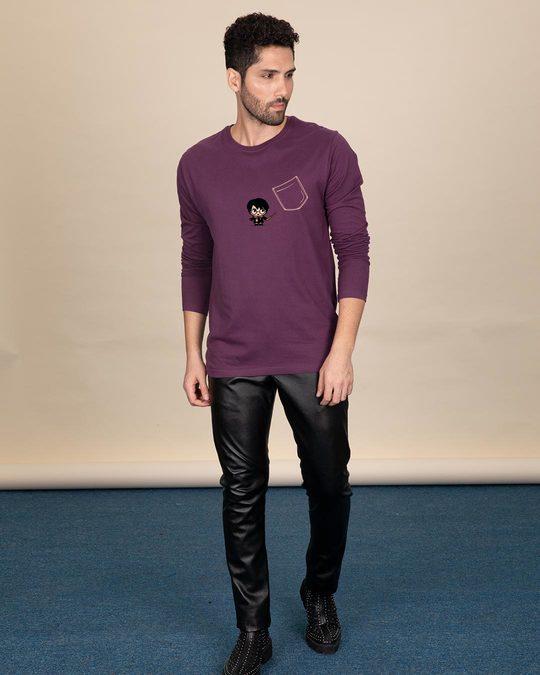 Shop Magical Pocket Full Sleeve T-Shirt (HPL)