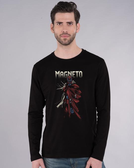 Shop Magneto Full Sleeve T-Shirt (XML)-Front