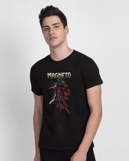 Shop Magneto Half Sleeve T-Shirt (XML)-Front