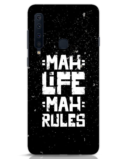 Shop Mah Life Mah Rules Samsung Galaxy A9 2018 Mobile Cover-Front