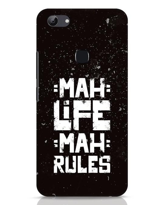 Shop Mah Life Mah Rules Vivo Y83 Mobile Cover-Front