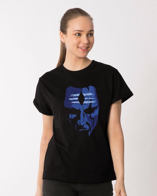 Shop Mahakal Boyfriend T-Shirt-Front