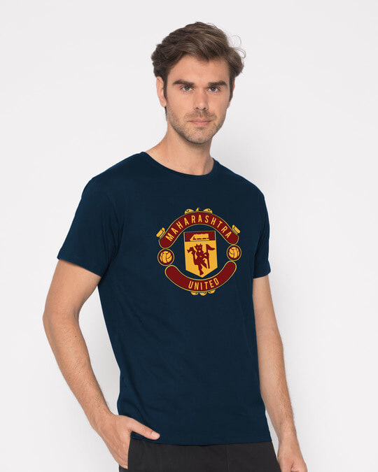Shop Maharashtra United Half Sleeve T-Shirt-Full