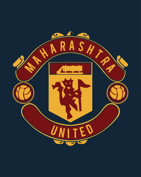 Shop Maharashtra United Half Sleeve T-Shirt
