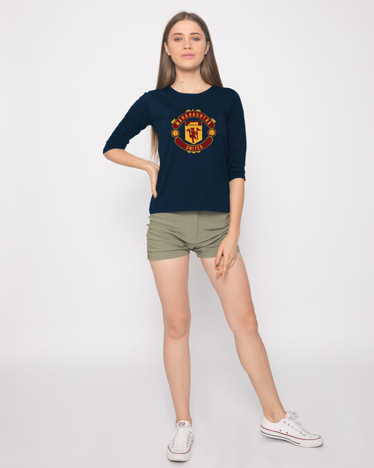 Shop Maharashtra United Round Neck 3/4th Sleeve T-Shirt-Full