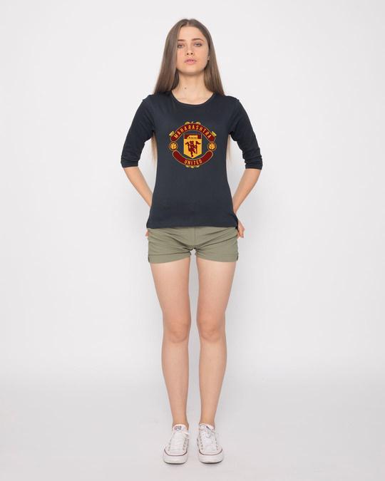 Shop Maharashtra United Round Neck 3/4th Sleeve T-Shirt
