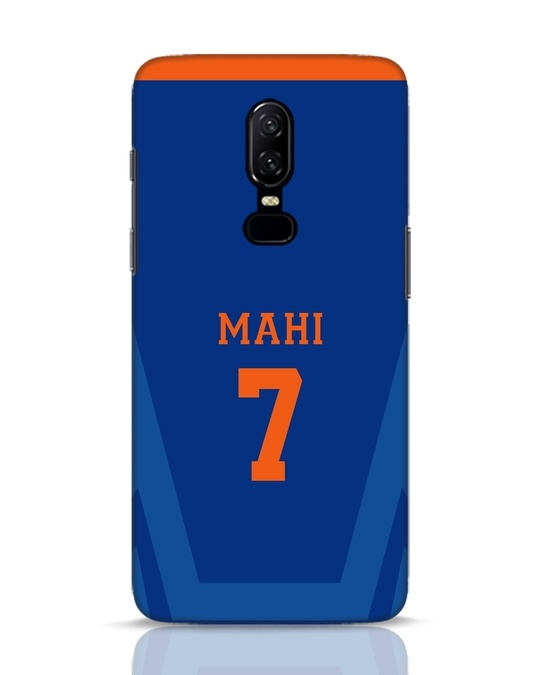 Shop Mahi Cricket OnePlus 6 Mobile Cover-Front