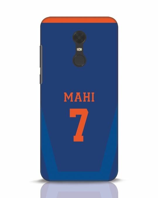 Shop Mahi Cricket Xiaomi Redmi Note 5 Mobile Cover-Front