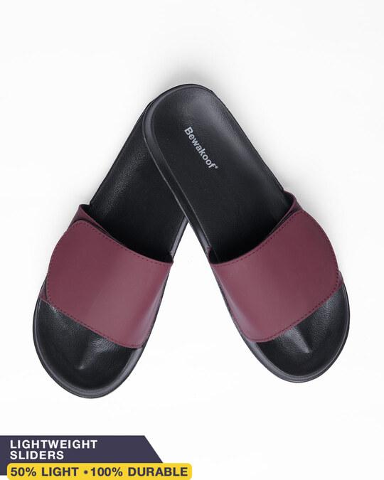 Shop Mahogany Lightweight Adjustable Strap Mens Slider-Front