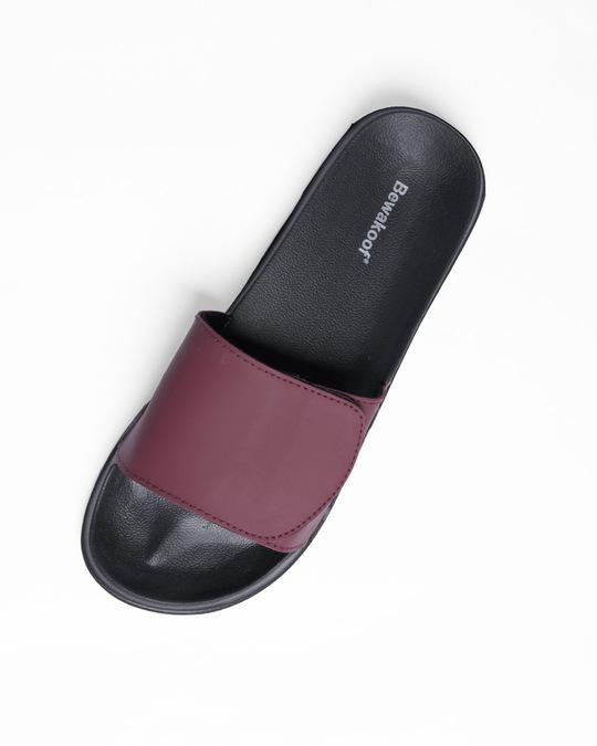 Shop Mahogany Lightweight Adjustable Strap Mens Slider-Full