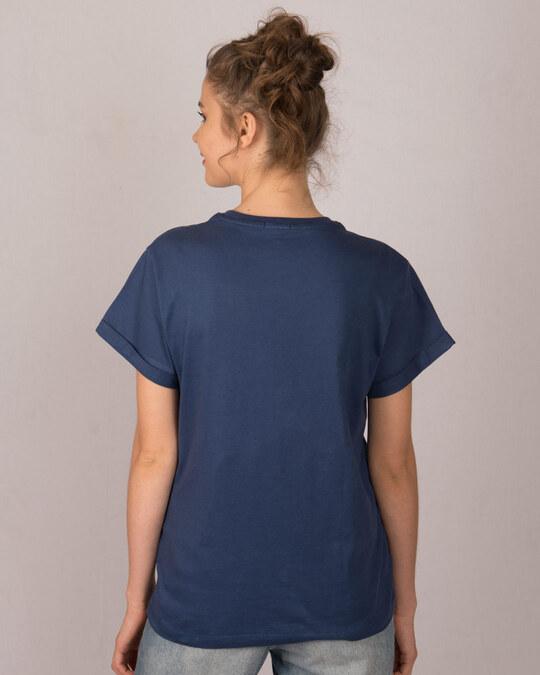 Shop Main Udna Chahta Hoon Boyfriend T-Shirt-Back