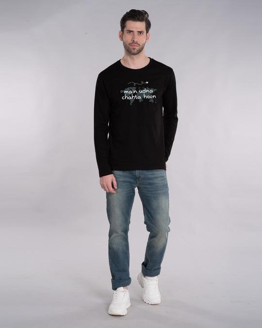 Shop Main Udna Chahta Hoon Full Sleeve T-Shirt-Design