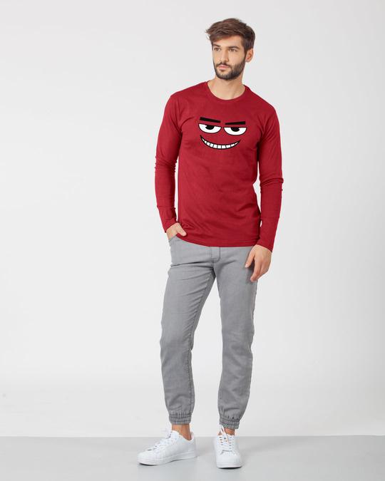 Shop Major Dead Eyes Full Sleeve T-Shirt